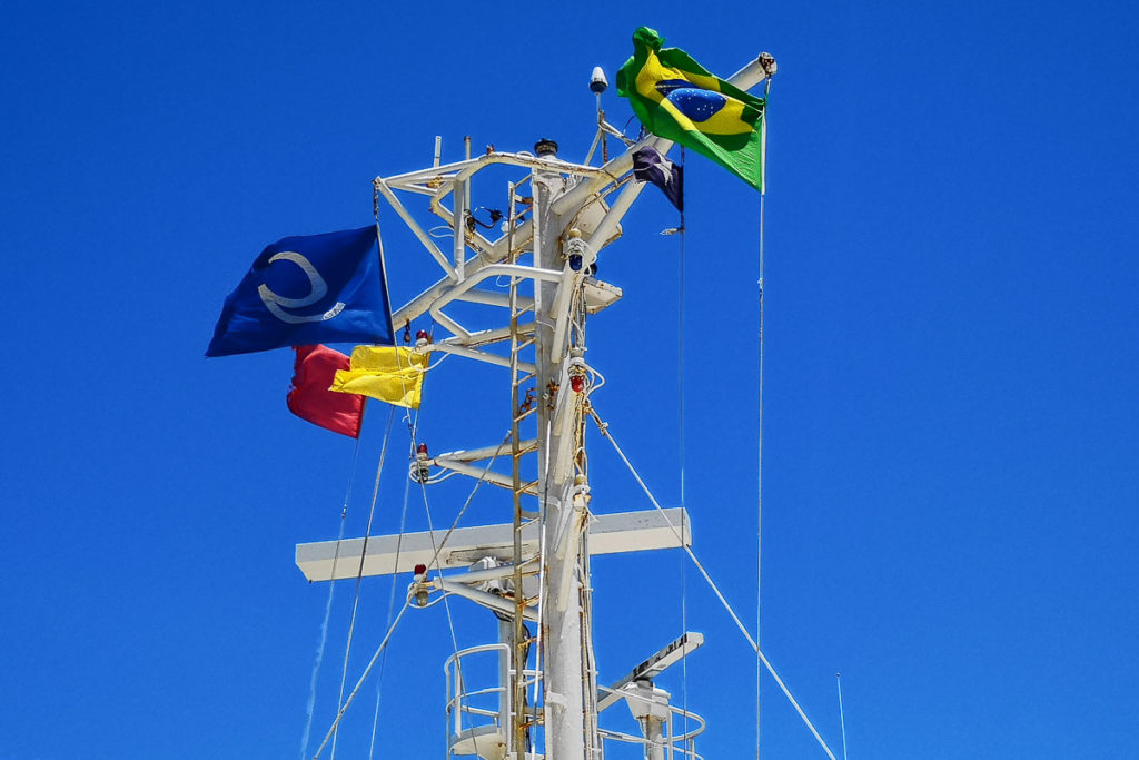 Frachtschiffreise von Europa nach Südamerika