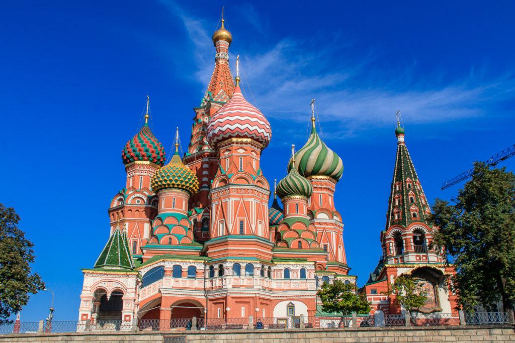 Moskau ist die schönste Stadt in Russland