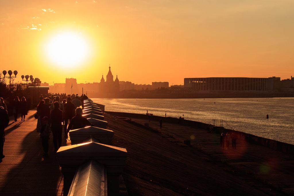 Nischni Nowgorod ist eine der schönsten Städte in Russland