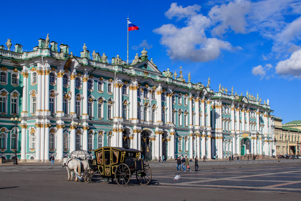 St. Petersburg ist eine der schönsten Städte in Russland