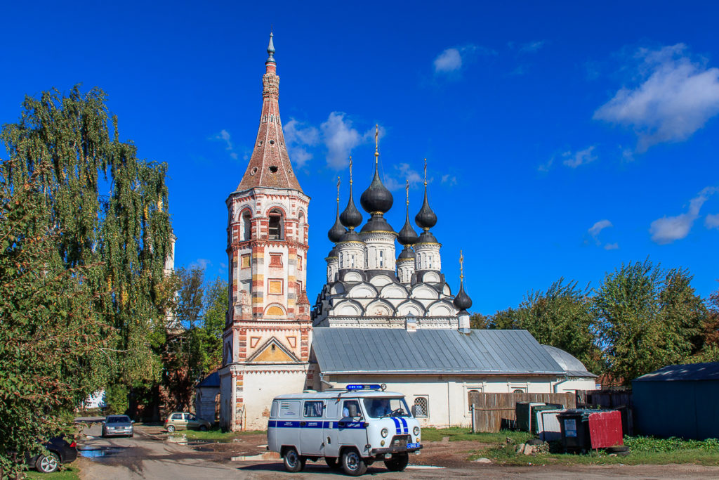 Susdal ist eine der schönsten Städte in Russland