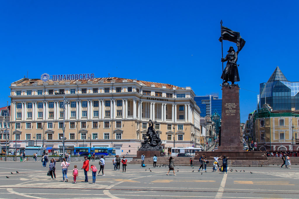 Wladiwostok ist eine der schönsten Städte in Russland