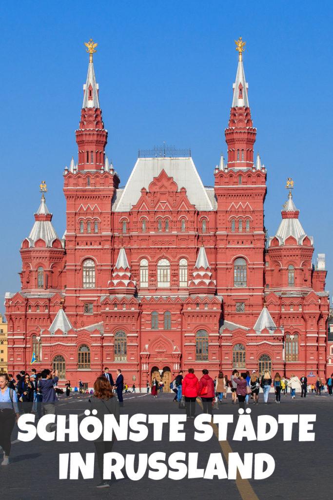 Die Schönsten Städte Russland