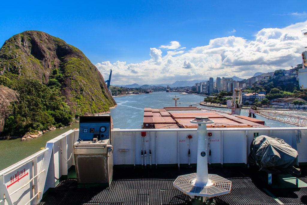 Vitoria Frachtschiffreise von Europa nach Südamerika