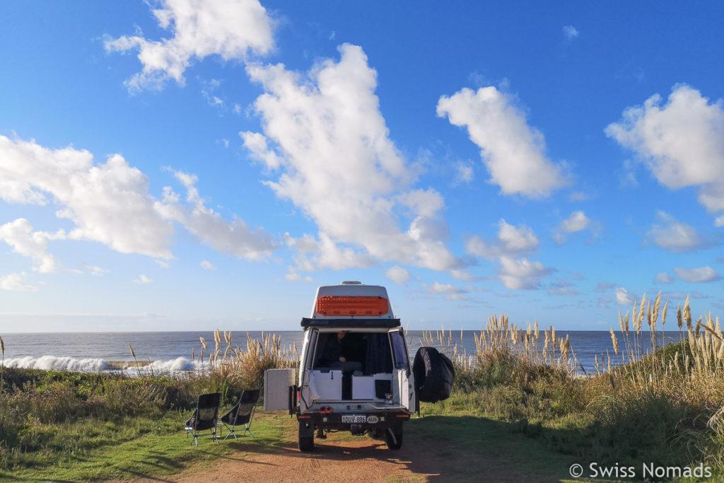 Campen in Uruguay