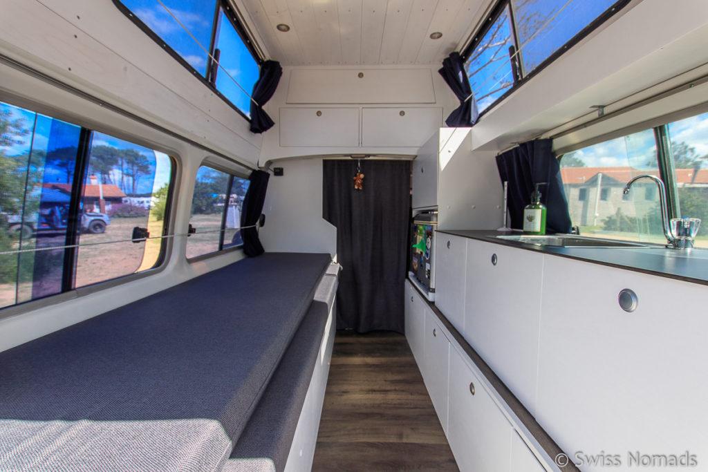 Camper Umbau eines Overland Fahrzeuges