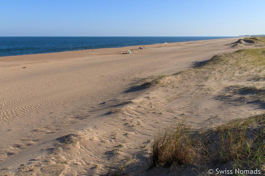 Strand in Uruguay
