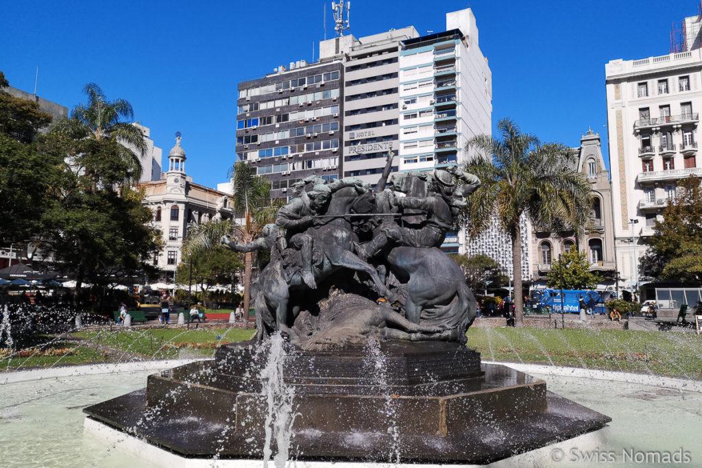 El Entrevero Plaza in Montevideo