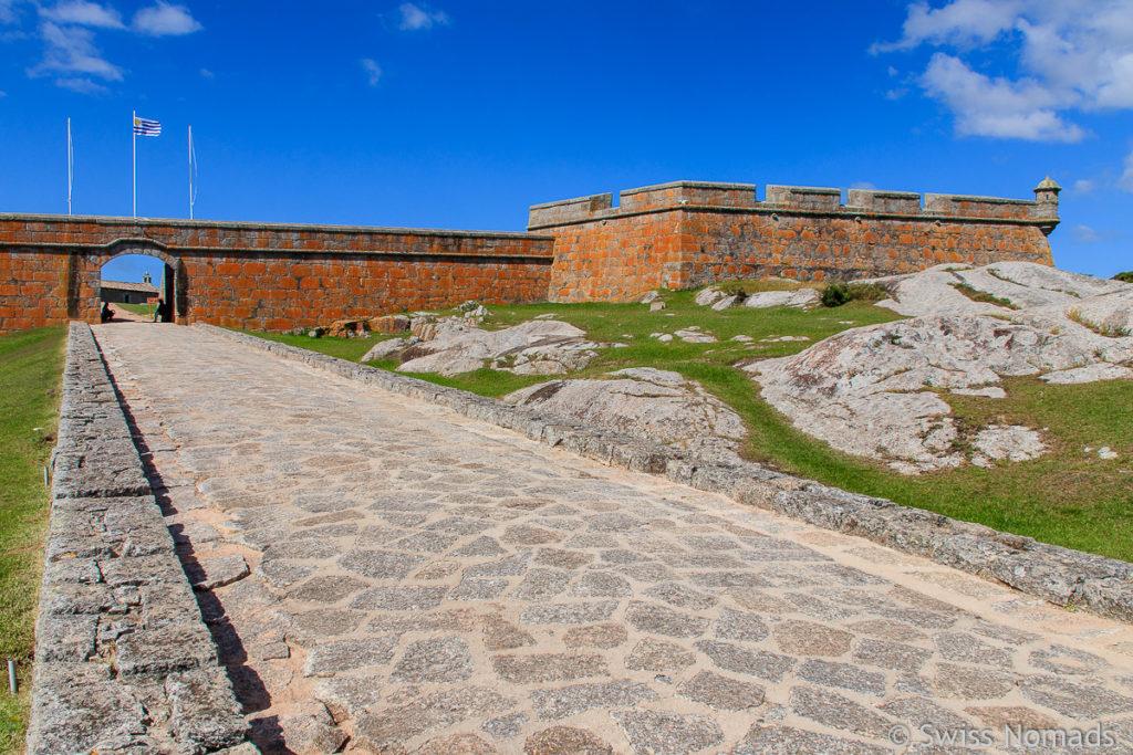 Fortaleza de Santa Teresa in Uruguay