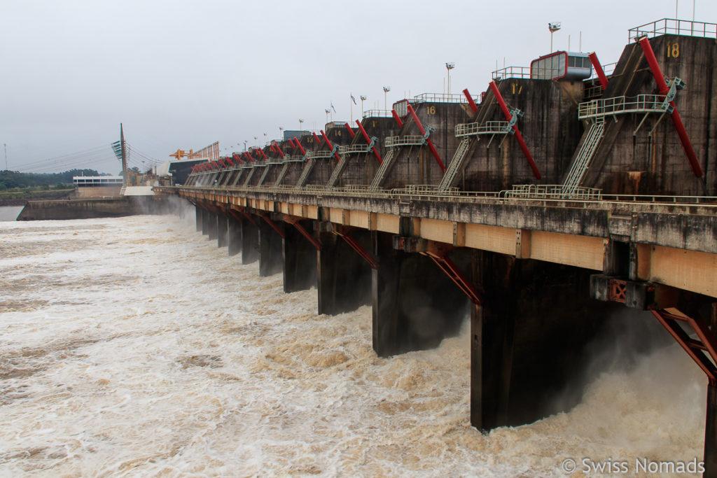 Salto Grande Kraftwerk Uruguay