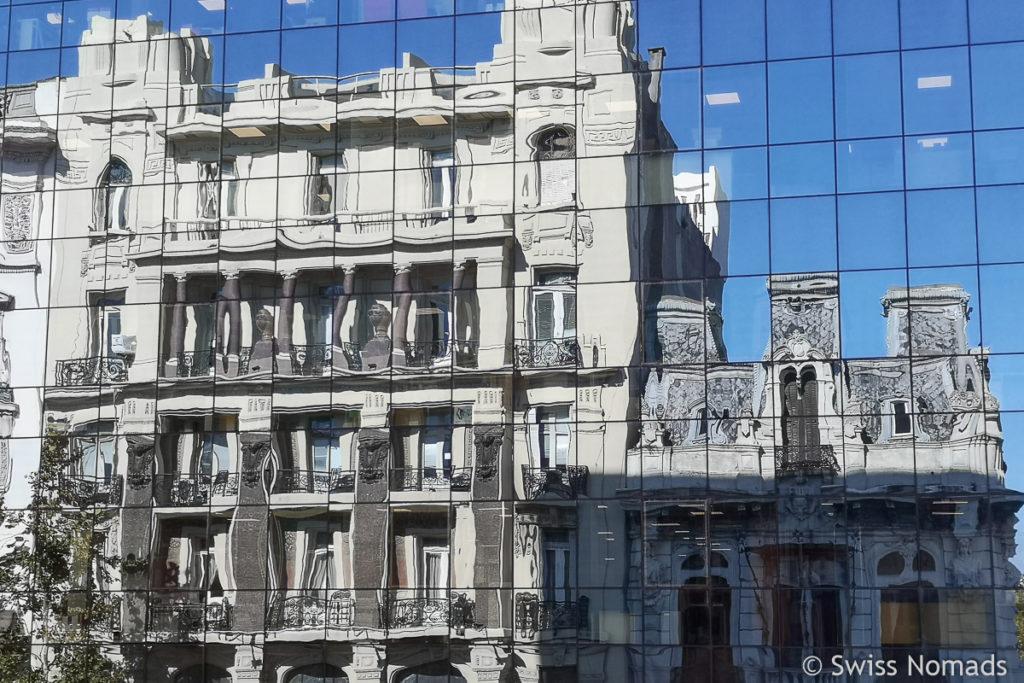 Gebäude im Zentrum von Montevideo