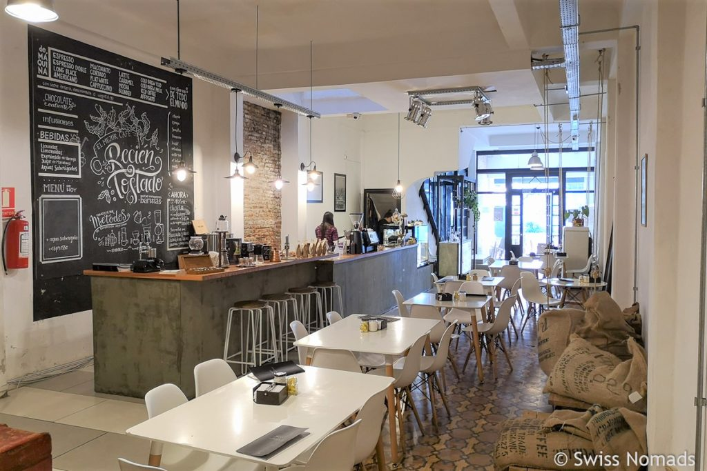 The Lab Café in Montevideo