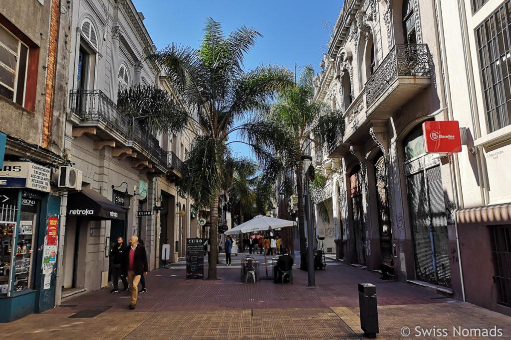 Fussgängerzone im Zentrum Montevideo