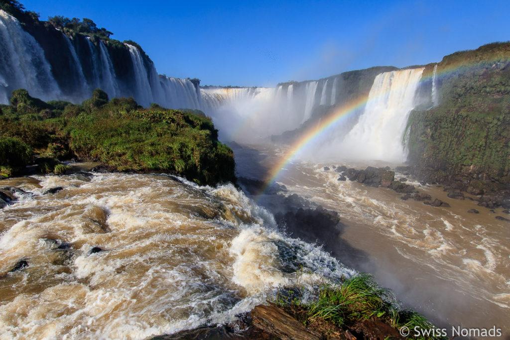 Aussicht Iguazu Wasserfälle