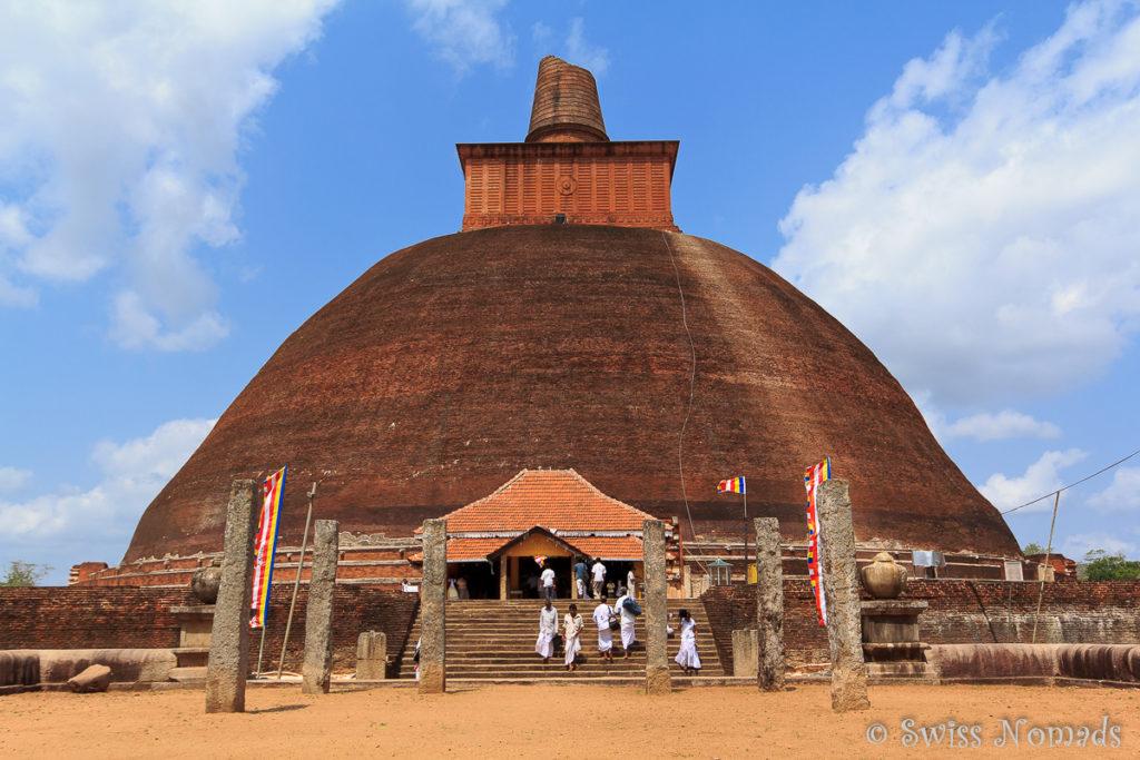 Sehenswürdigkeiten in Anuradhapura