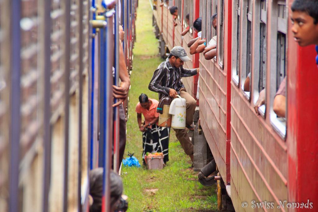 Colombo Anuradhapur Bahnfahrt