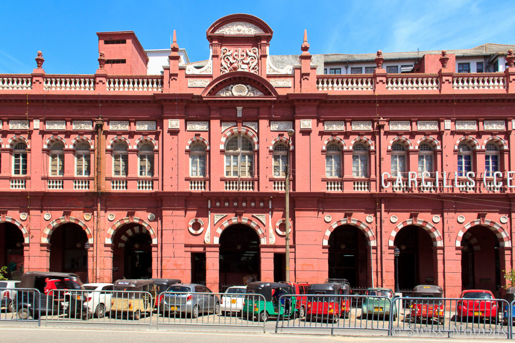 Cargills Warenhaus in Colombo