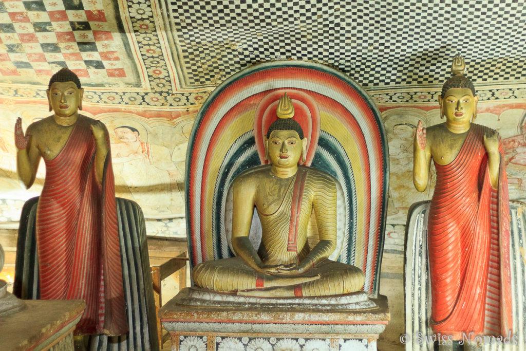Dambulla Höhlen Tempel