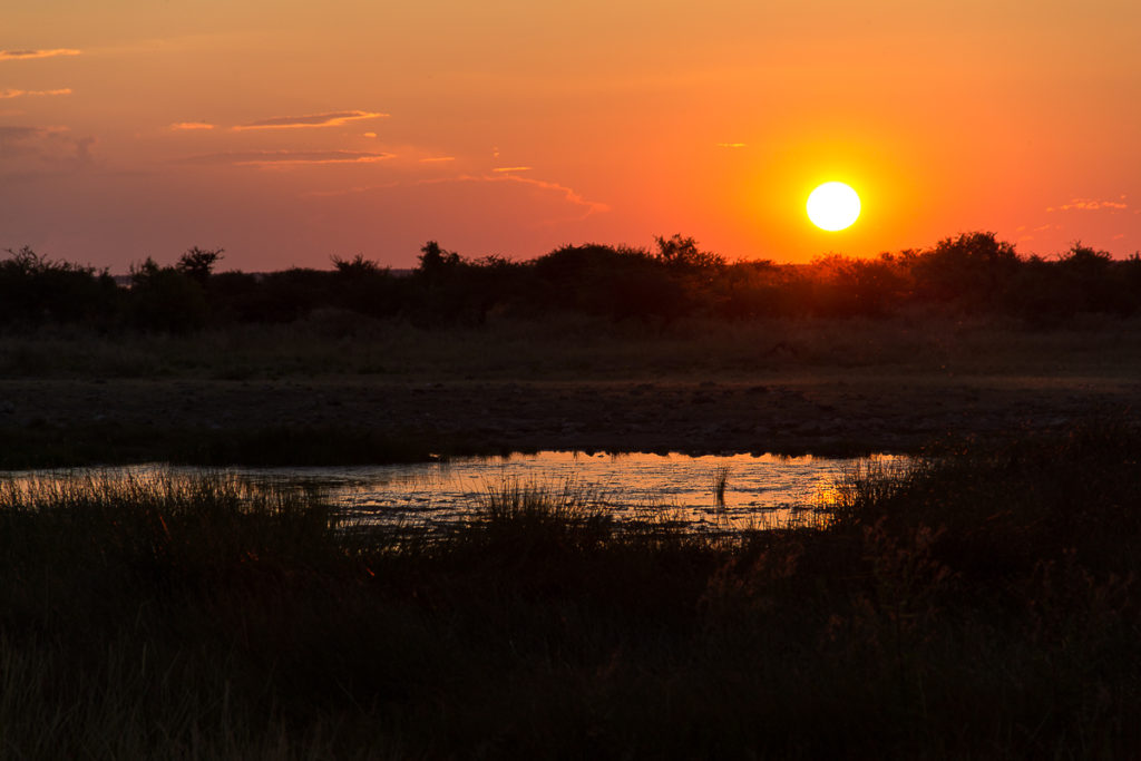 Namutoni Camp im Etosha Nationalpark