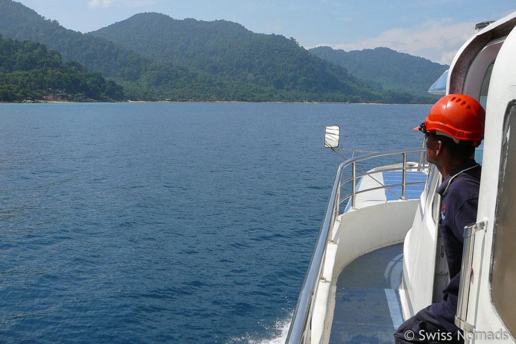 Fähre Mersing Tioman