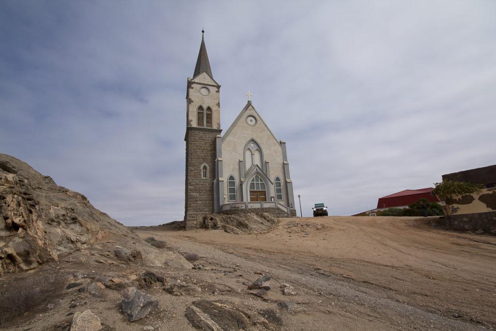Felsen Kirche in Lüderitz Namibia