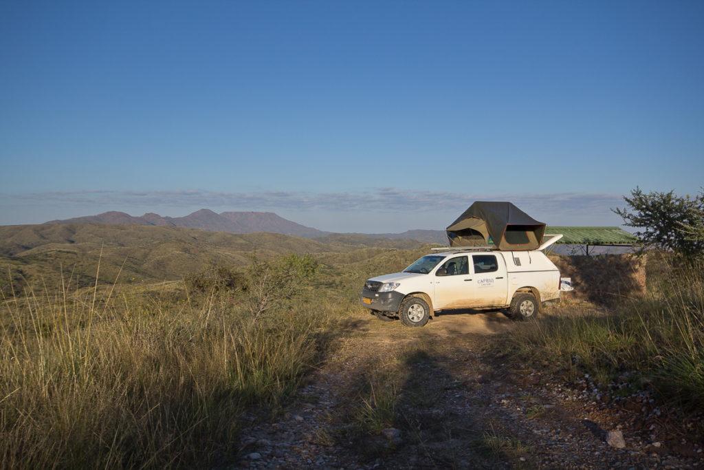 Camping auf der Hakos Gästefarm