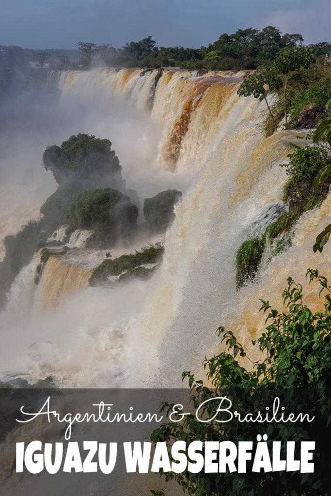 Iguazu Wasserfälle Pinterest
