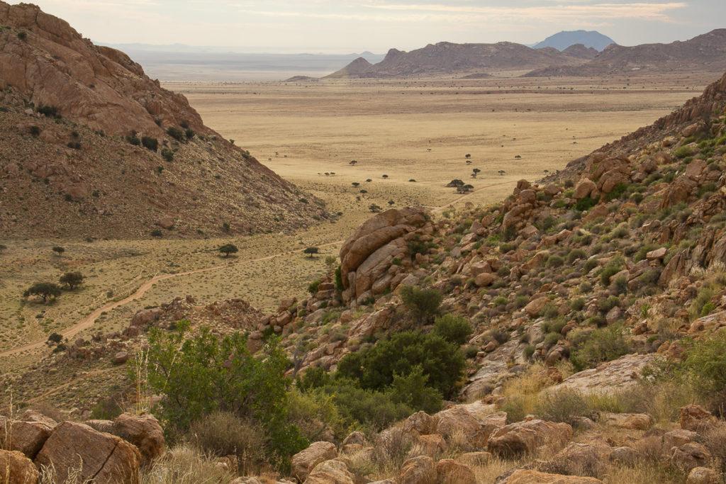 Wanderung bei bei Klein Aus Vista in Namibia