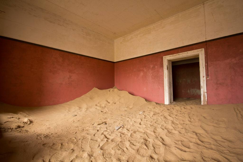 Geisterstadt Kolmanskop auf Namibia Roadtrip