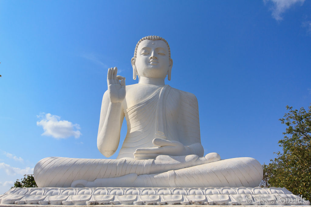 Buddha Statue in Mihintale