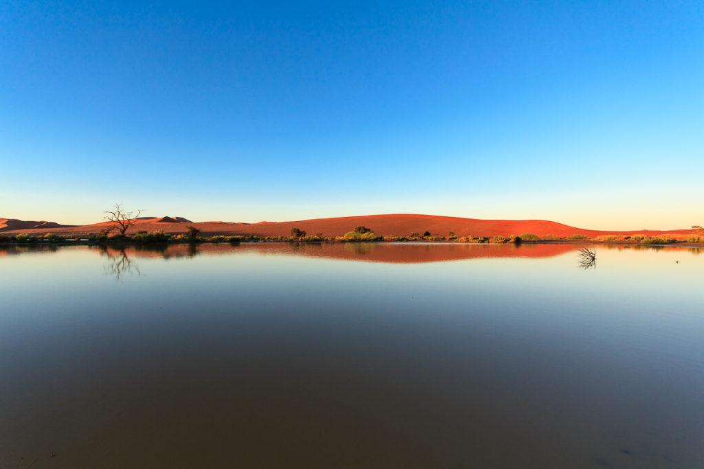 Wasser im Namib Naukluft Park