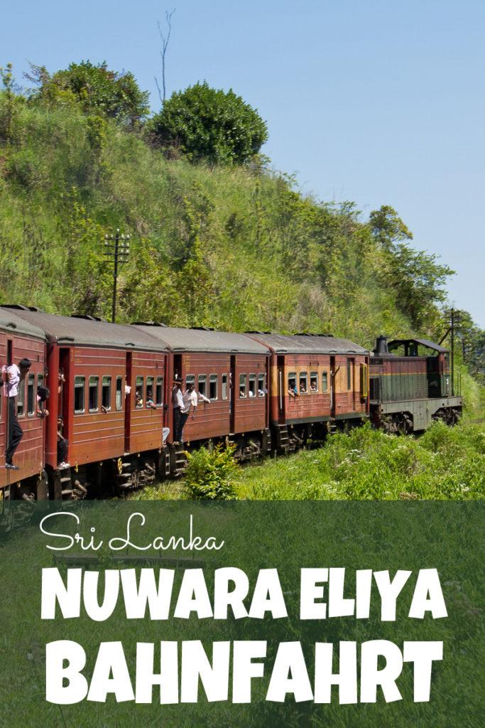 Nuwara Eliya Bahnfahrt