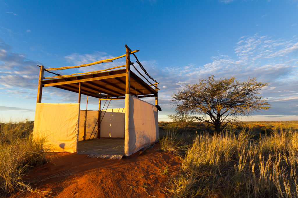 Red Dune Camp in Namibia