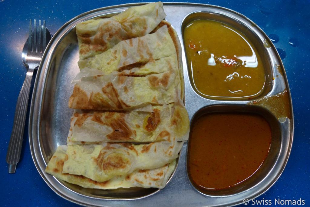 Roti indisches Essen