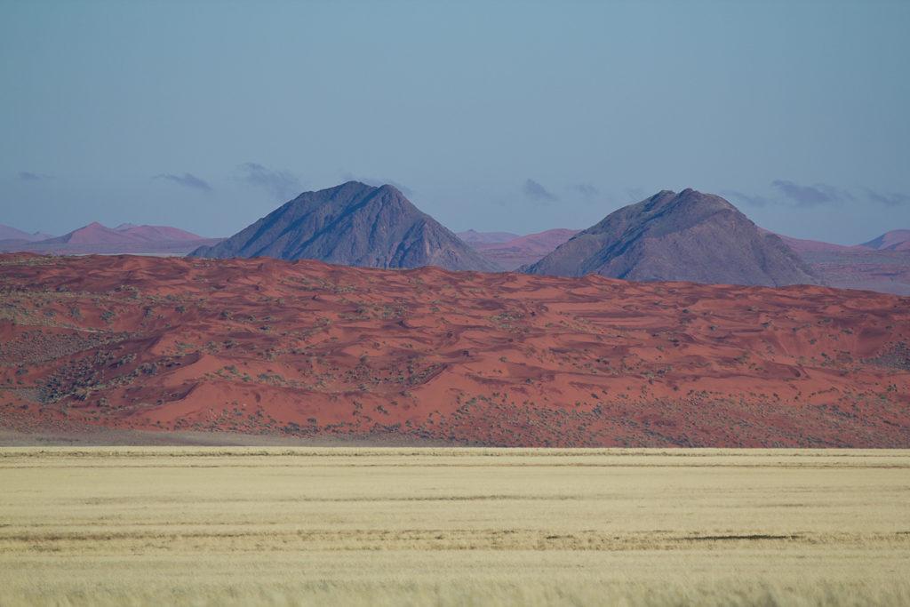 Sand Dünen in der Namtib Wüste