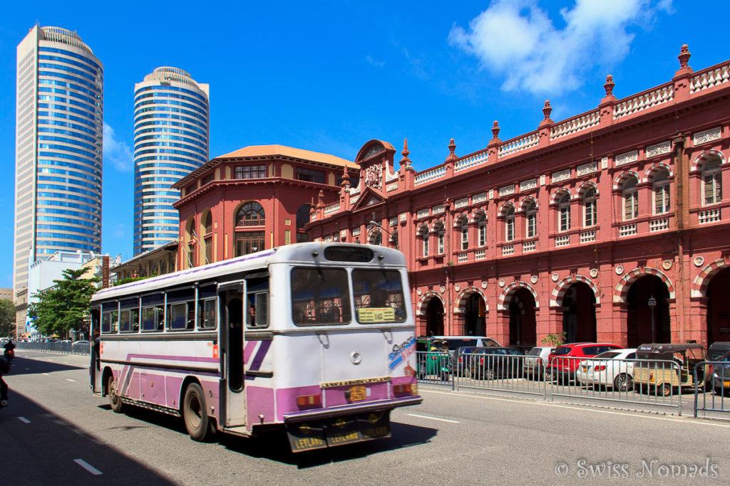 Sehenswürdigkeiten Colombo Sri Lanka