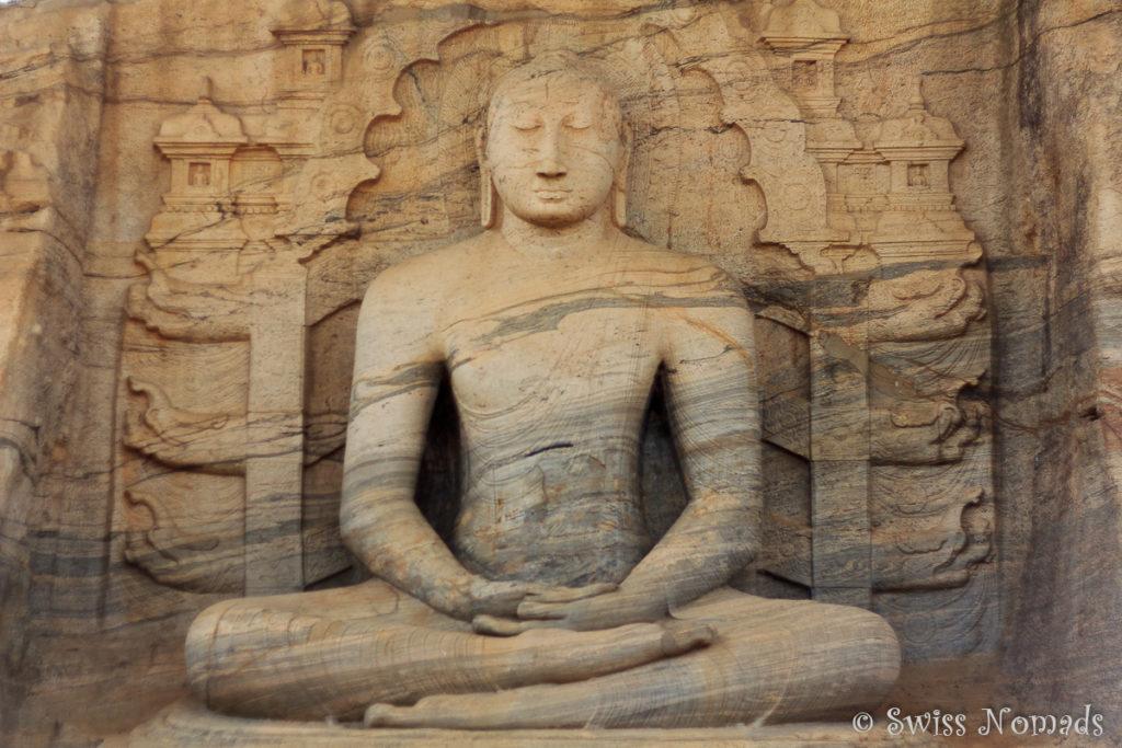 Sehenswürdigkeiten Polonnaruwa Gal Vihara