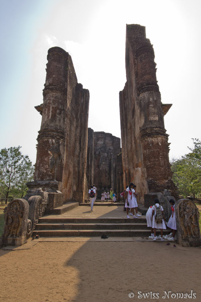 Sehenswürdigkeiten Polonnaruwa Lankatilaka