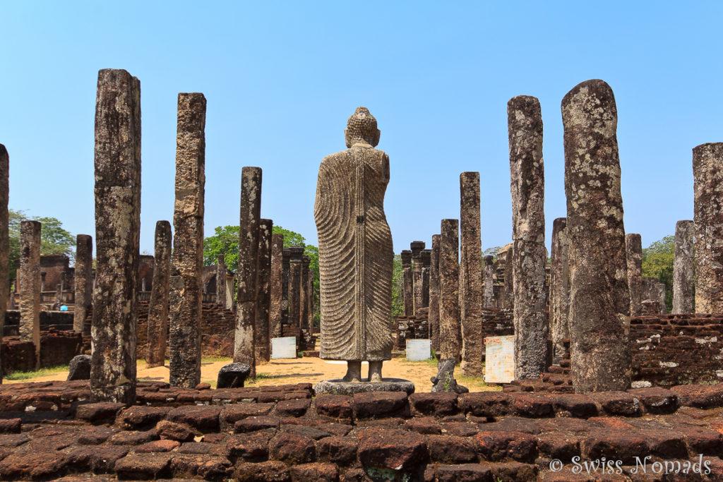 Sehenswürdigkeiten Polonnaruwa Quadrangle