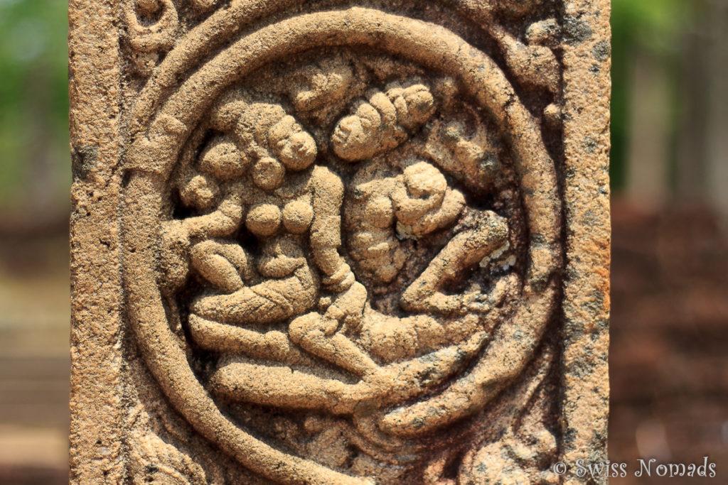 Das Quadrangle in Polonnaruwa