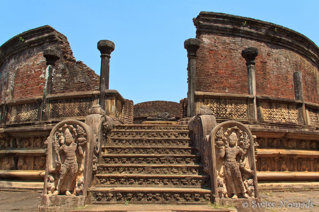 Sehenswürdigkeiten Polonnaruwa Vatadage
