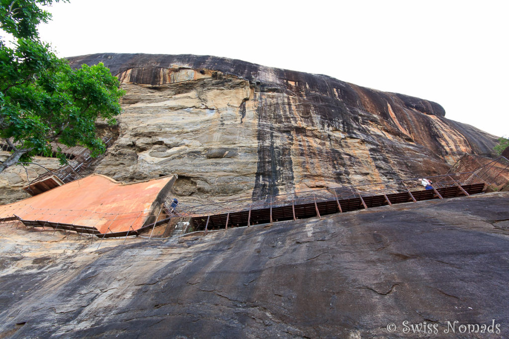 Sigiriya Rock Aufstieg