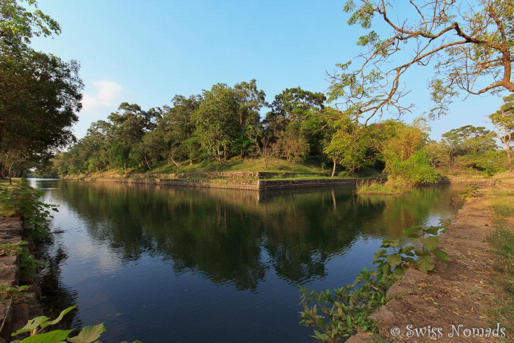 Sigiriya Rock Wasser Graben