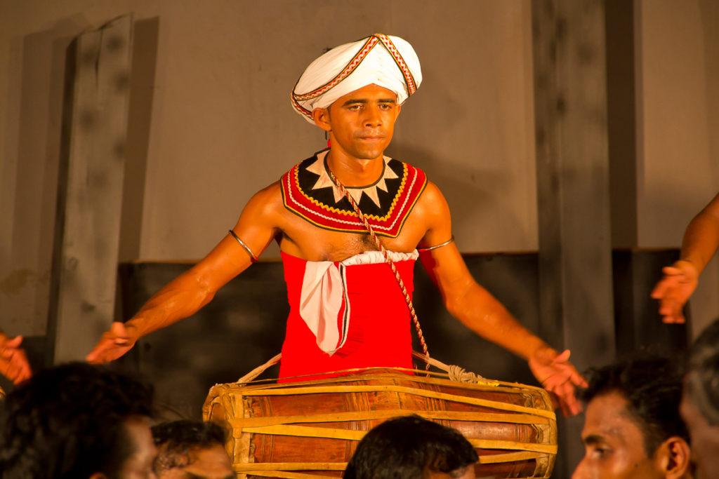 Trommel in Sri Lanka