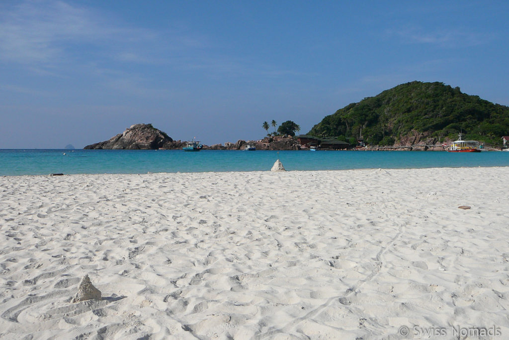 Strand auf Redang Malaysia
