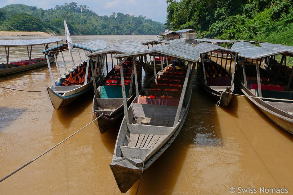 Transfer Boote Taman Negara