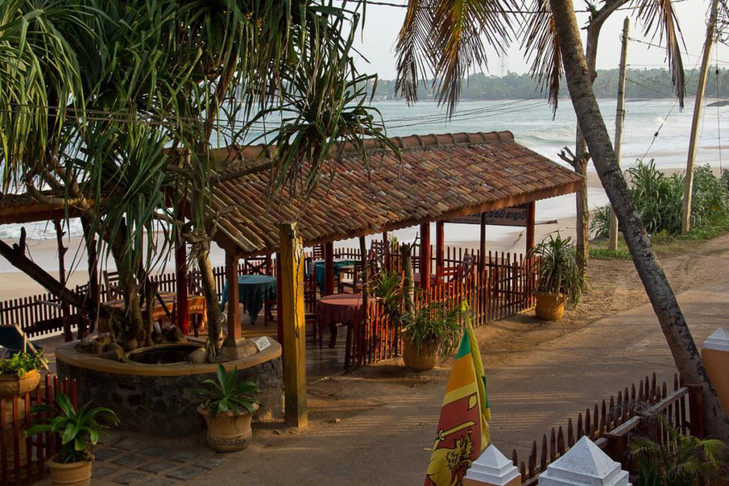 Tangalle Blue Horizon Restaurant Strand