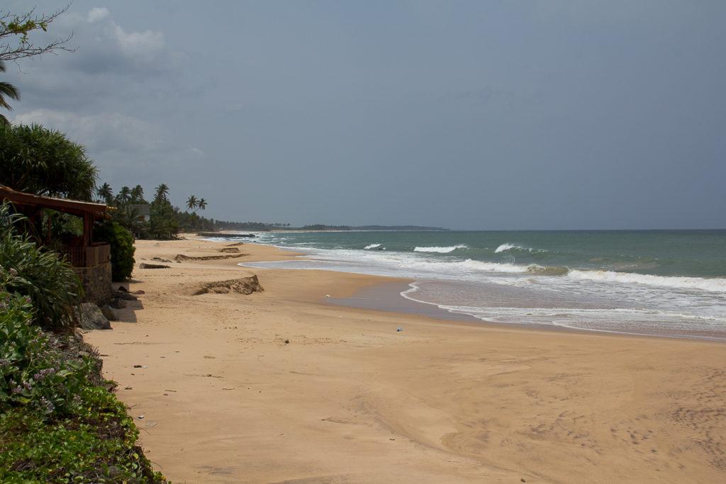 Strand in Tangall Sri Lanka