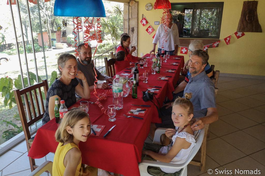 Schweizer 1 August Feier in Paraguay