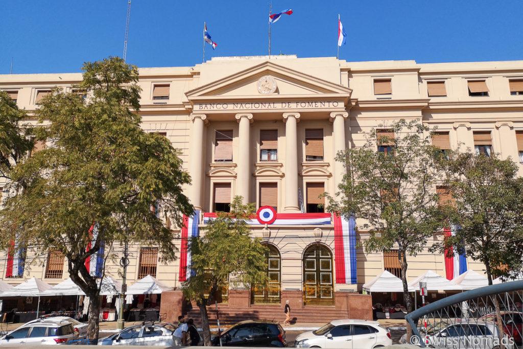 Banco Nacional in Asuncion